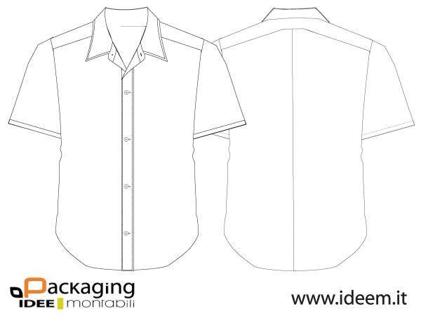 Download 007 Shirt Vector Template Free Vector Free Shirts Shirt Template Shirts