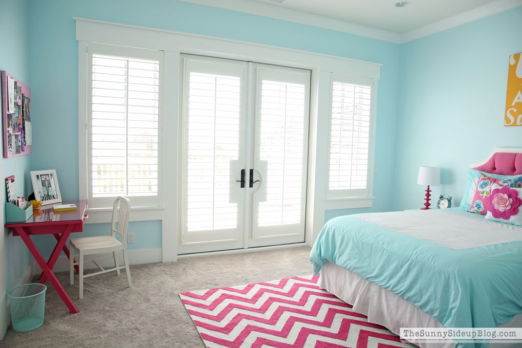 Girls Bedroom Blue And Pink pink and aqua blue preteen girls bedroom | aqua blue, aqua and