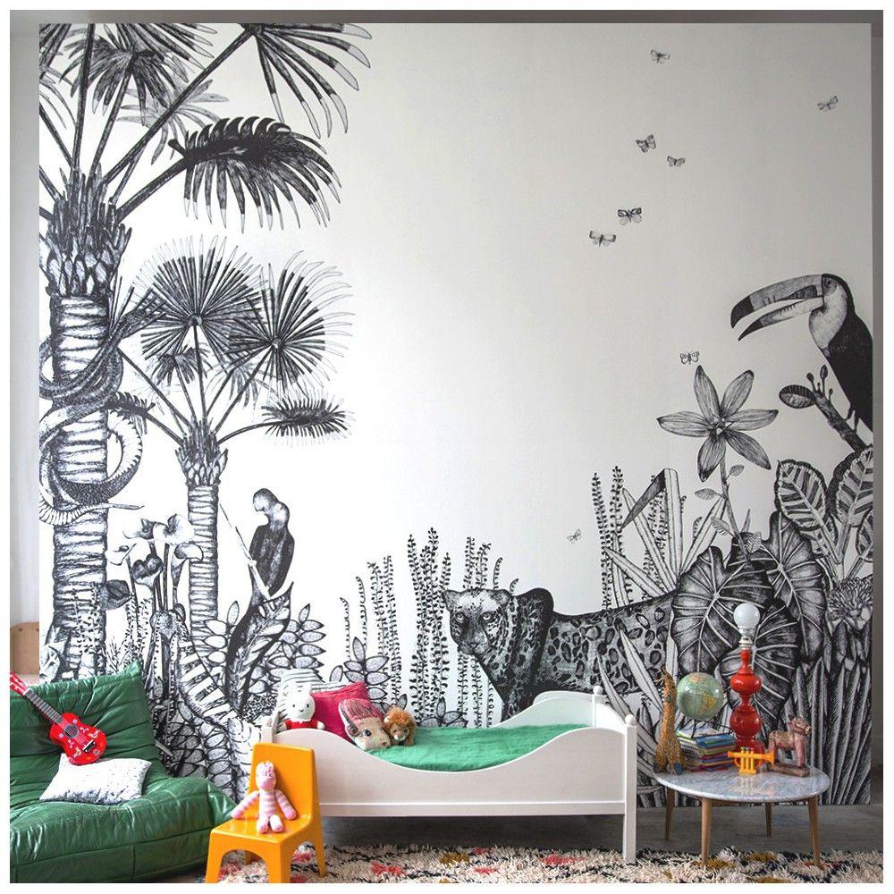 Tapete the wild von bien fait kinderzimmer dekoration via for Dekoration kinderzimmer