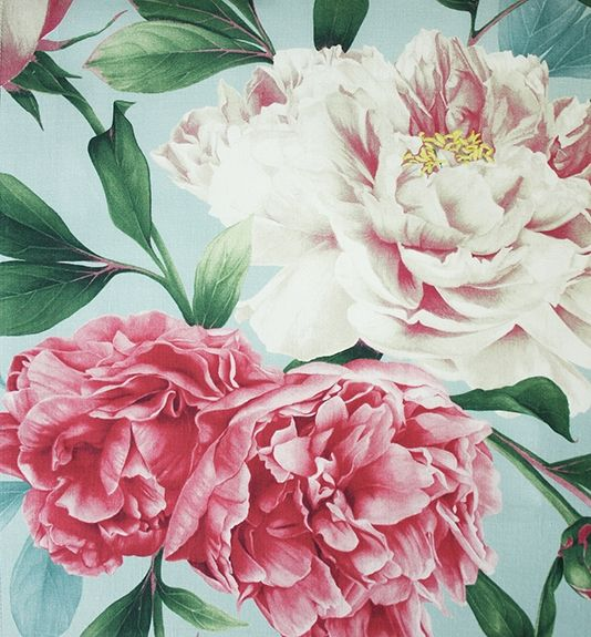 Phoebe Fabric A magnificent floral fabric designed by Lorraine ...