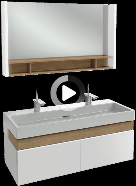 Terrace Meuble Sous Plan Vasque 120 Cm Jacob Delafon France In 2020 Sauna Bathroom Design Best Bathroom Vanities Bathroom Interior