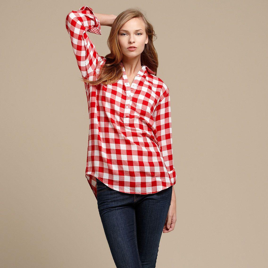 camisas-a-cuadros-para-mujer-de-moda-tallas-grandes-9.jpg (1137×1137 ...