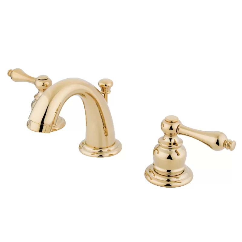 Widespread Bathroom Faucet With Drain Assembly In 2020 Kingston Brass Widespread Bathroom Faucet Bathroom Faucets