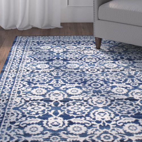 Plumville Navy Blue Area Rug Rugs In Living Room Dark Blue Rug Blue Area Rugs
