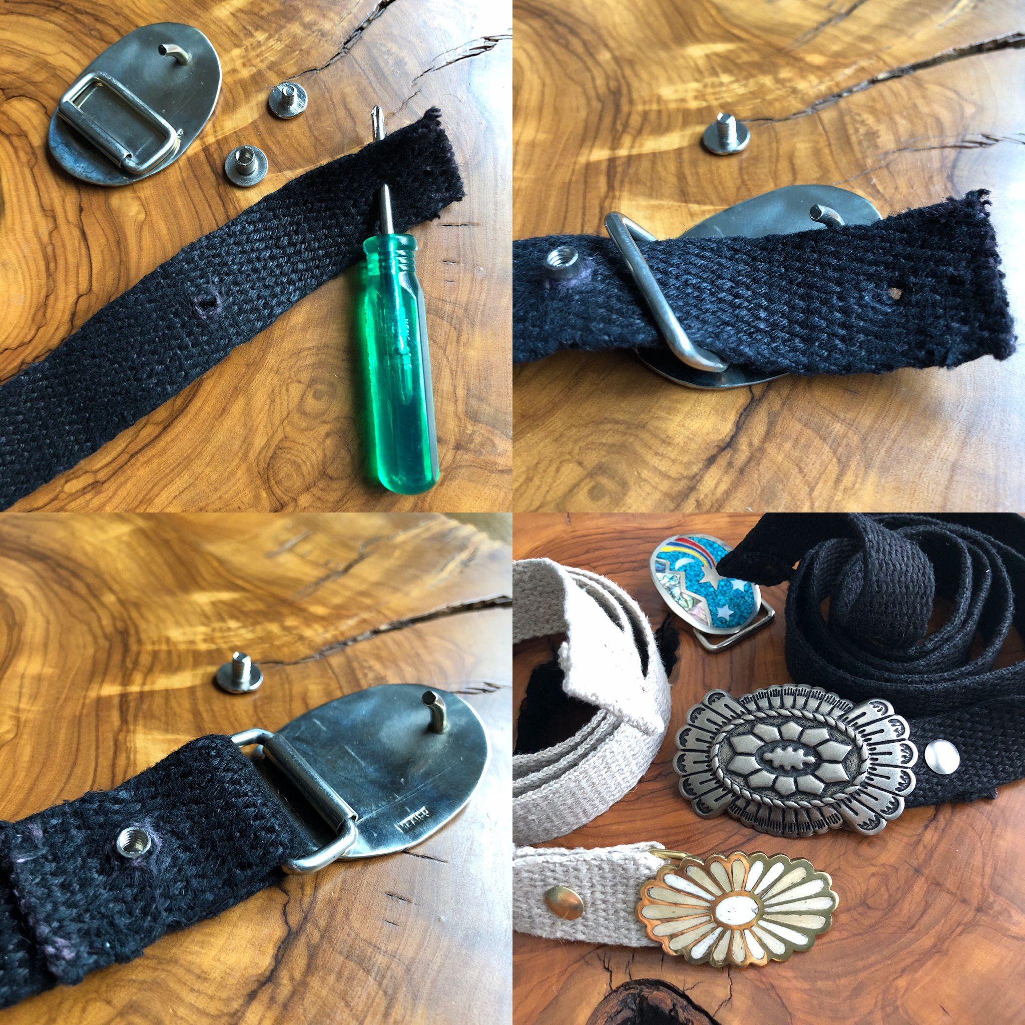 Diy Hemp Webbing Belt Webbing Belt Belt Buckle