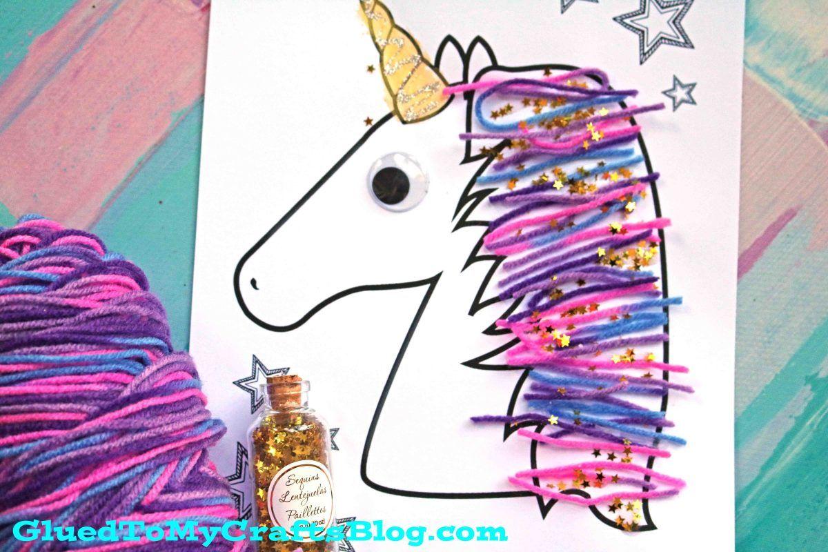 Magical Unicorn Yarn Hair
