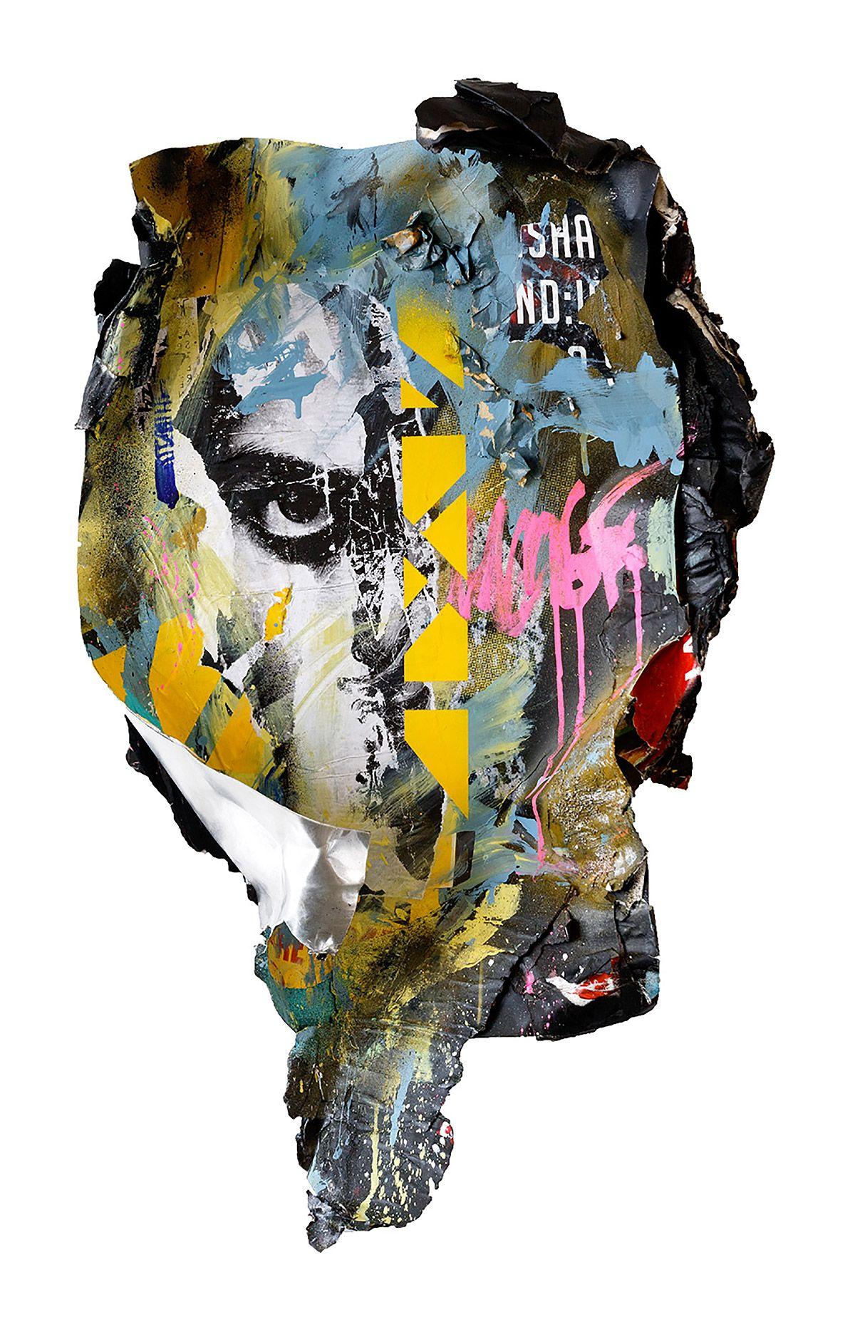 Collage Artworks by Joachim Romain – Inspiration Grid | Design Inspiration #art #artist #artwork #collage #streetart #urban #poster #inspirationgrid