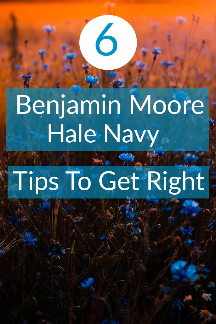 6 Benjamin Moore Hale Navy Tips To Get Right  #halenavybenjaminmoore