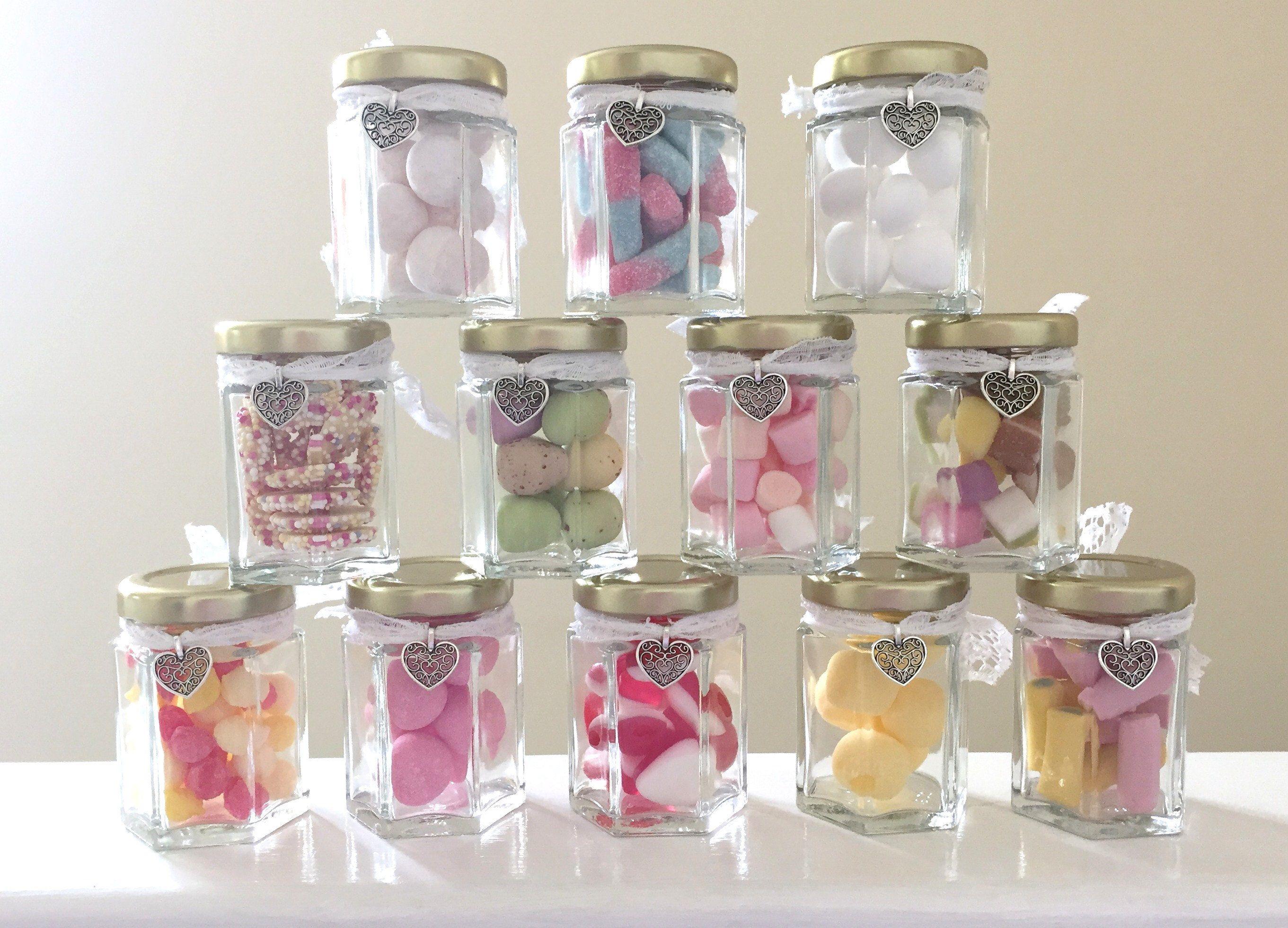 Wedding Favour Retro Sweet Jars Wedding Favour Sweet Jars Sweet Jars Wedding Favour Jars