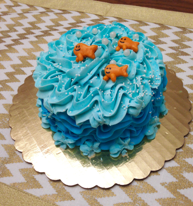 Bubble Guppies Smash Cake