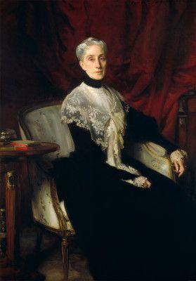 Sargent, John Singer  1901 Ellen Peabody Endicott (Mrs. William Crowninshield Endicott)  Saw this at the National Gallery in DC.