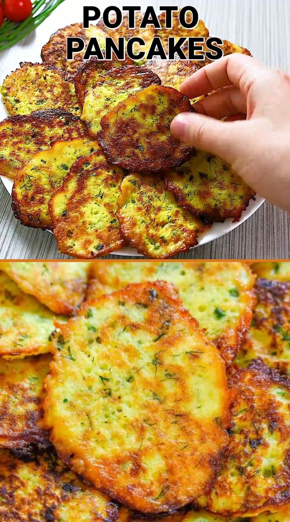 Herbed Potato Pancakes