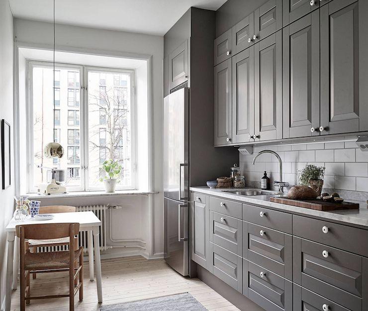 Küchentraum küchentraum in grau lilaliv inredning gray