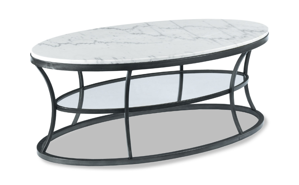 Impact Oval Marble Coffee Table Furniture