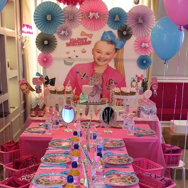 Jojo Siwa Themed Birthday Party Jojo Siwa Birthday Party Ideas B