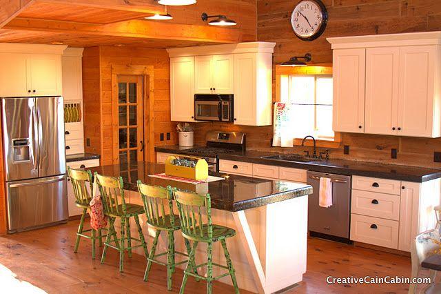rustic country kitchen like the walls pantry door ceiling floor rh pinterest com