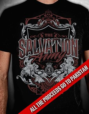 Salvation Army Pakistan T-shirt