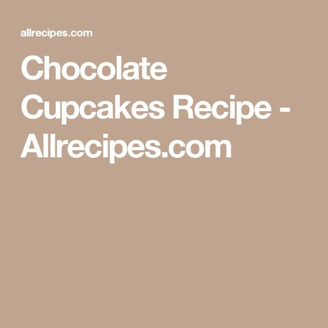 Chocolate Cupcakes | Recipe | Cupcake recipes, Tasty ...