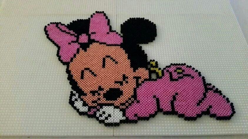 11 Hama Perlen Mickey Und Co Ideen Hama Perlen