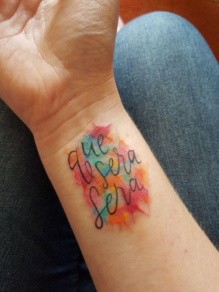 50++ Astonishing Que sera sera tattoo wrist ideas in 2021