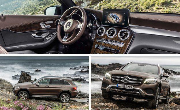 2016 Mercedes Benz Glc Cl Official Photos And Info News Car Driver