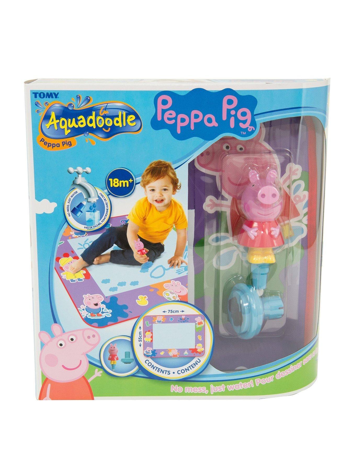 Peppa Pig Aquadoodle Peppa pig, Pig crafts, Pig character