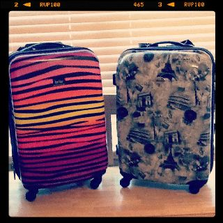 Fashionable suitcases!?(: