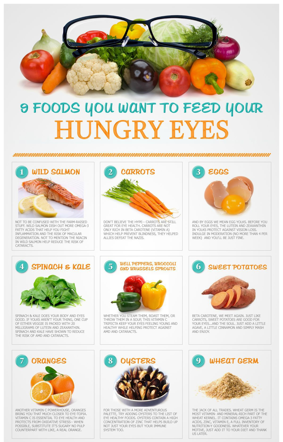Discover the Best Foods for Eye Health is part of Eye health food - Foods that are good for your body are also great for your eyes  Read about the best foods for eye health, and find some recipes you can try today!