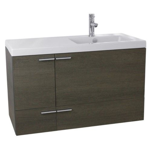 acf by nameeks new space 39 in single bathroom vanity set with rh pinterest com