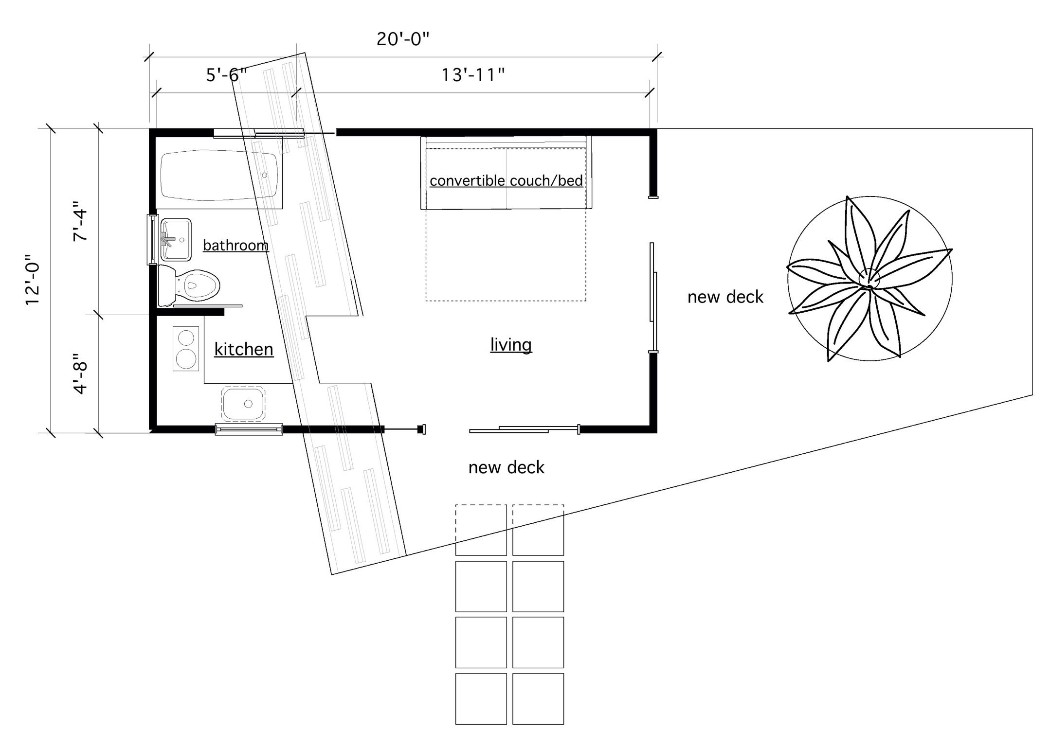 Pool House Plan