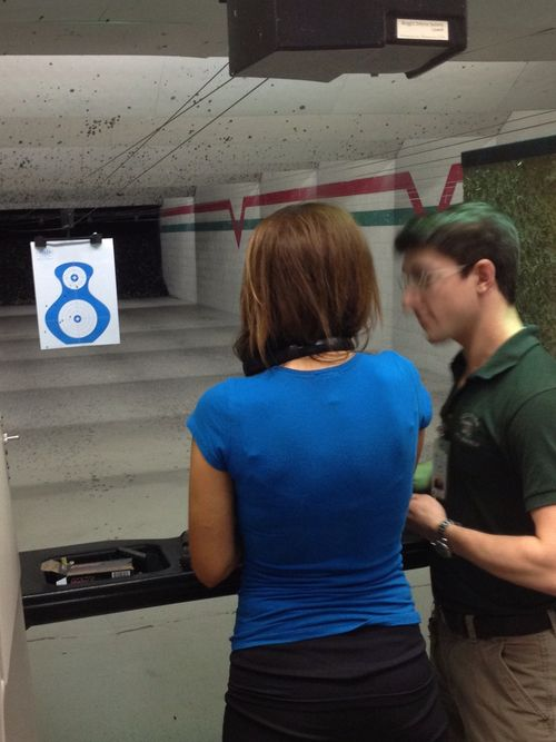Private firearm instruction on the ranges at H Shooting Sports