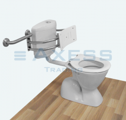 Best Toilet Backrest For As1428 1 2009 Compliant Toilets With 400 x 300