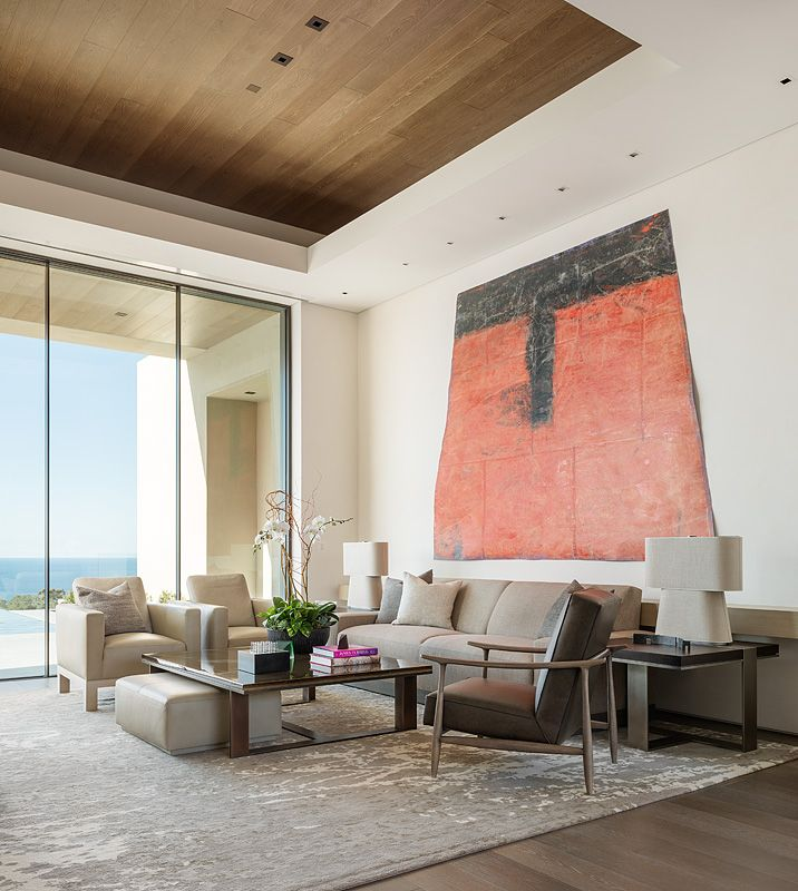 Hill Construction Company La Jolla San Diego Custom Home Best La Jolla Living Room Review