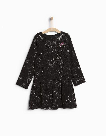 Zwarte jurk voor meisjes