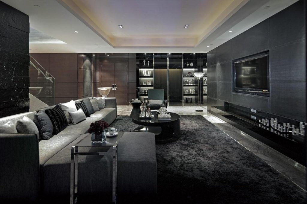 29 beautiful black and silver living room ideas to inspire his rh pinterest com