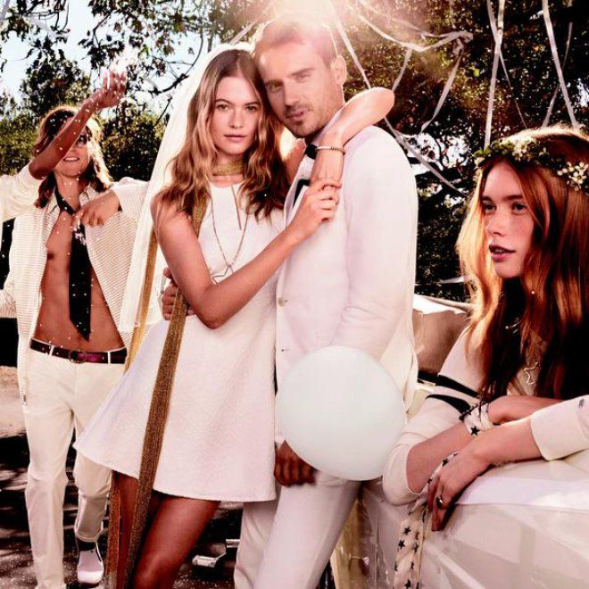 Behati prinsloo marries adam levine lookalike in new campaign behati prinsloo marries adam levine lookalike in new campaign junglespirit Images