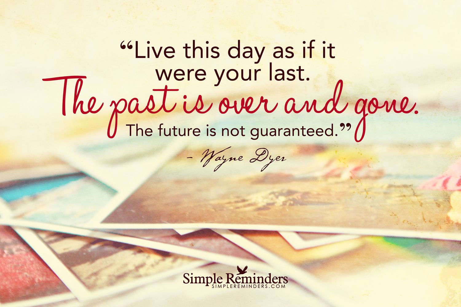 Live Futures Quotes The Future Is Not Guaranteed Quotes Day Life Live Past Future  I