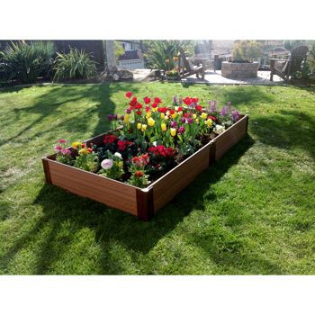 Costco Frame It All System Raised Garden Bed Kit 4 Ft