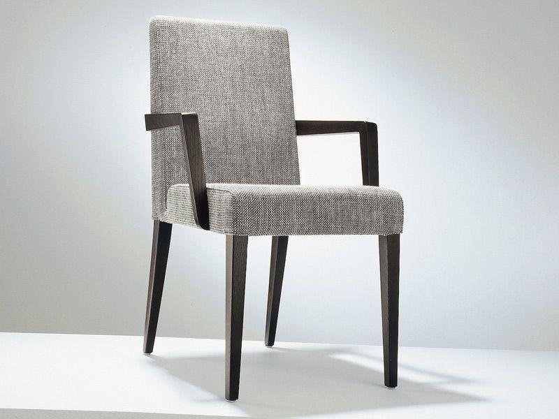 Stuhl aus Stoff mit Armlehnen D4-3 Kollektion Stühle by Hülsta-Werke ...