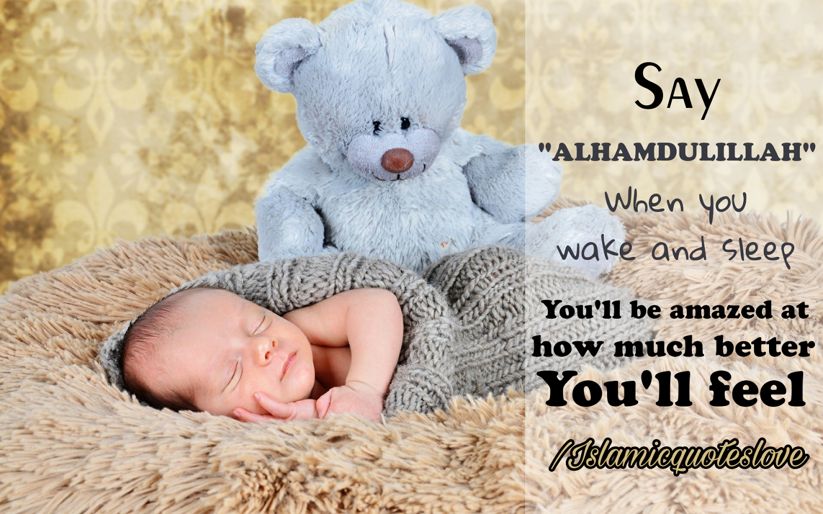 This Blog Induce By Islamic Quotes Alhamdulillah Quotes Baby