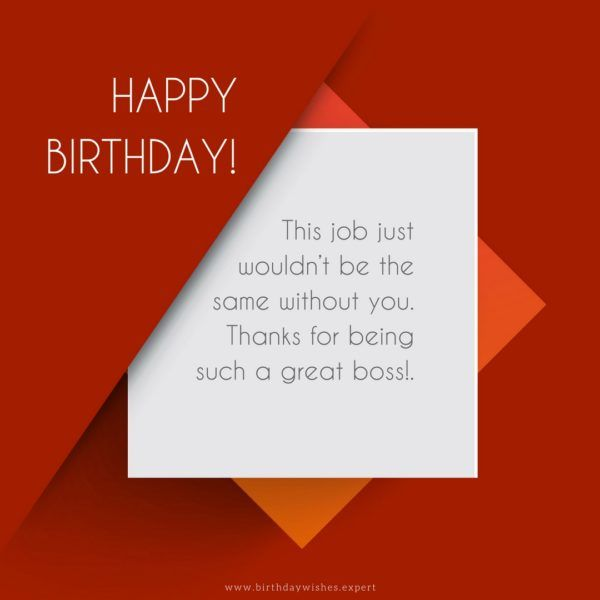 Happy Birthday To Boss Quotes: Professionally Yours : Happy Birthday Wishes For My Boss