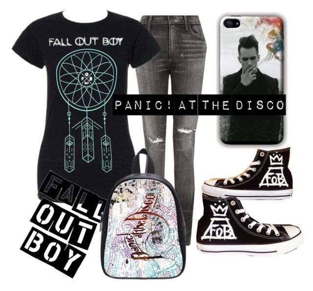 """Band Merch Back to School"" by mrssaxobeat19 ❤ liked on Polyvore featuring Citizens of Humanity and Converse"