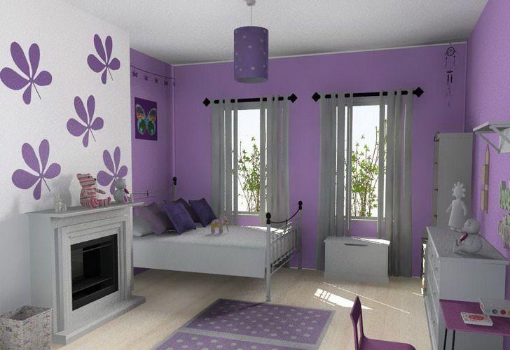 Bedroom Decorating Ideas Color Scheme Kids Bedroom Decorating Ideas Purple Color Scheme Woman Bedroom Girl Bedroom Designs Purple Girls Bedroom