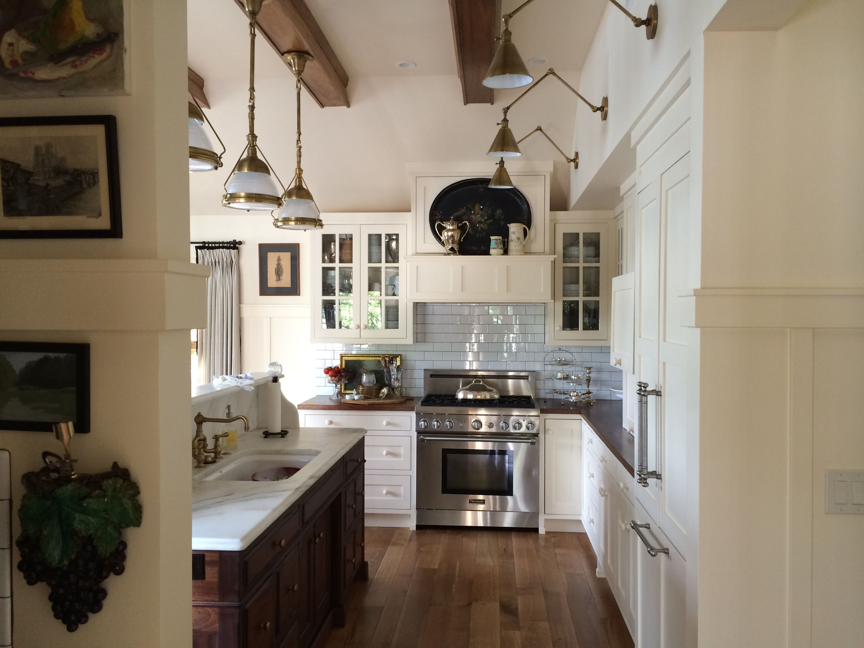 kitchen wide shot culinary kitchen home house rh pinterest com