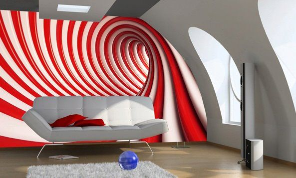 wall mural photo wallpaper red and white abstract abstract wall rh pinterest com