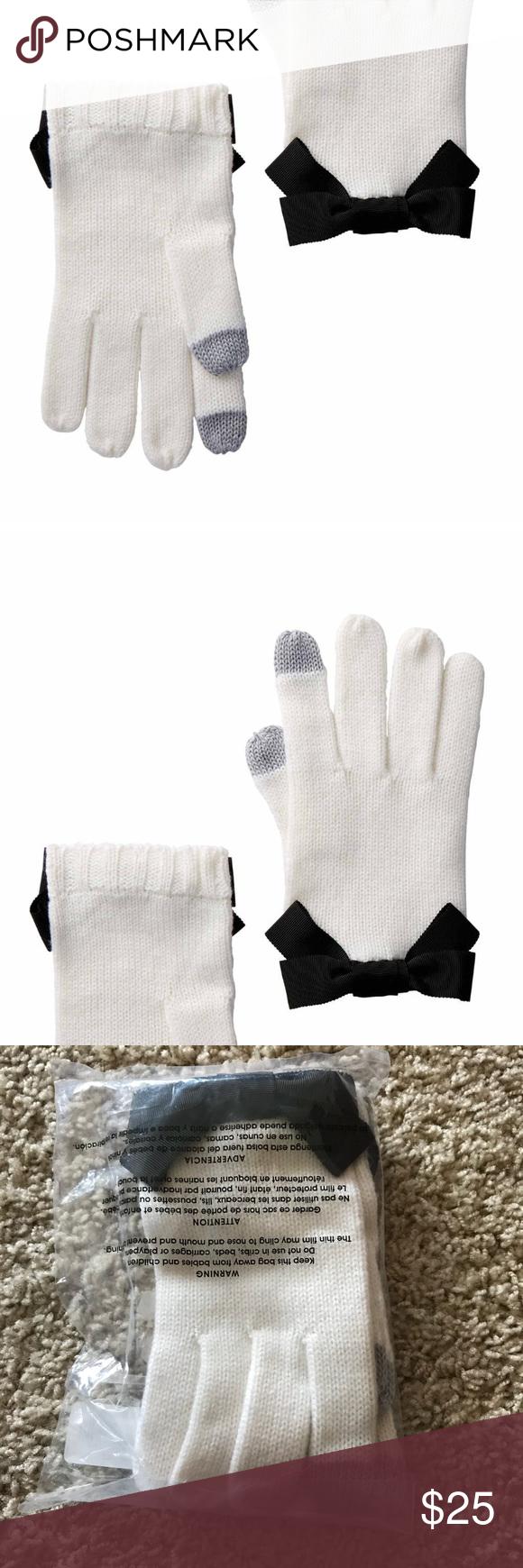 Kate Spade Grosgrain Bow Glove O S Clothes Design Fashion Design Fashion