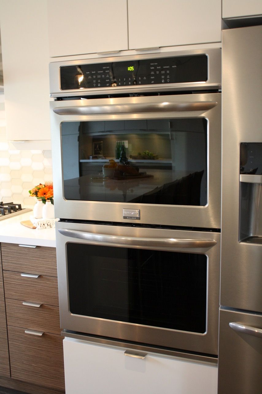 "frigidaire, 30"" gallery double wall oven - fget3065pf 
