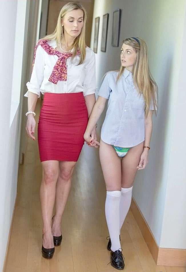 diapered lesbians