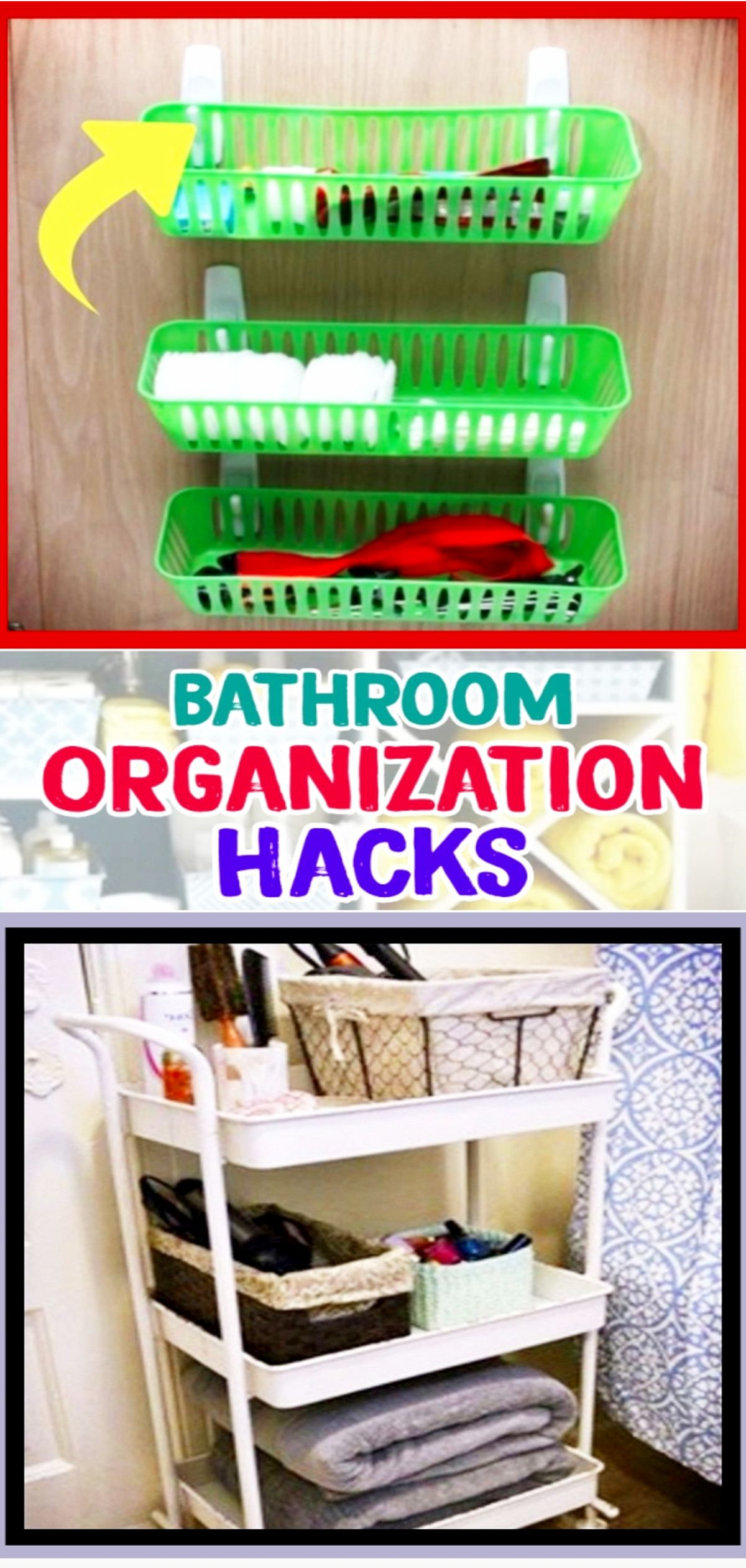 bathroom organization hacks 7 clever ways to organize your rh pinterest com