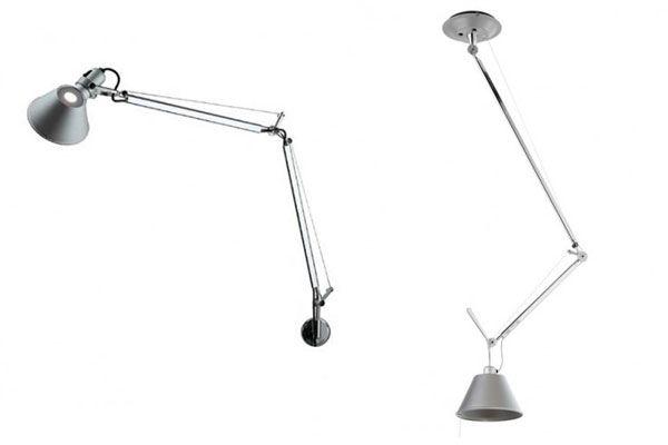 Tolomeo wandlamp en Tolomeo hanglamp - 2x lampen boven kookeiland